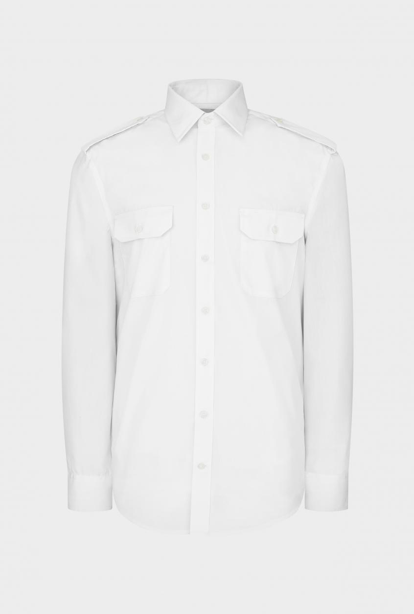 Men's pilot shirt Steven, long sleeve