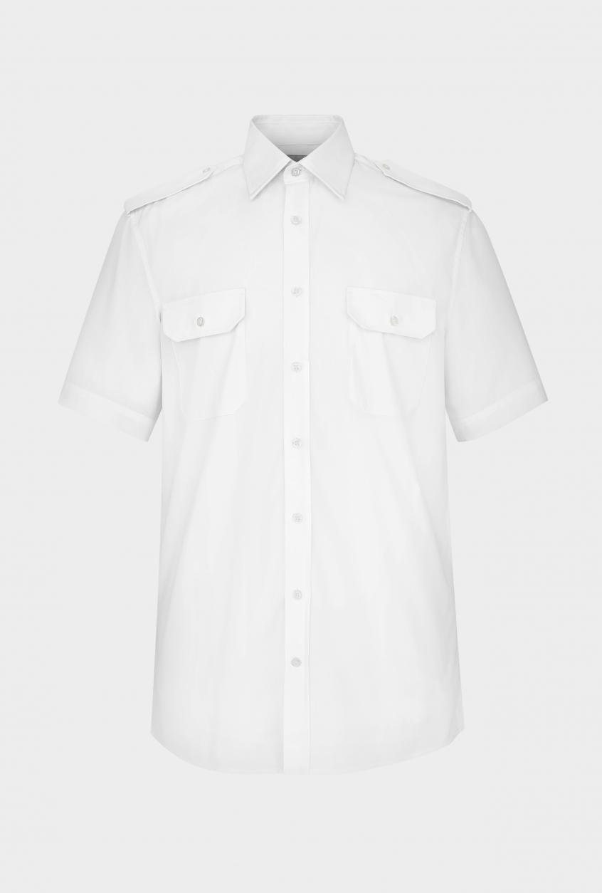 Men's pilot shirt Steven, short sleeve