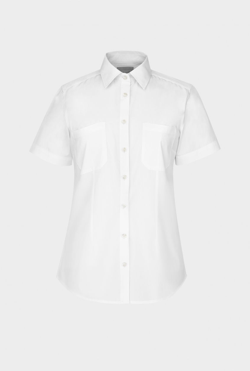 Ladies shirt Sofia, short sleeve